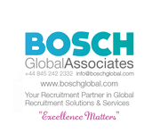 view more open positions at  Bosch Global Associates
